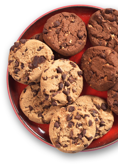 Assorted tray of cookies